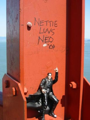 defacing national monuments in the name of LOVE!