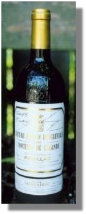 1995 Chateau Pichon Longueville Pauillac signed by Keanu Reeves