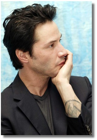 I like to think this stuff amuses, not bemuses him - pic from club-keanu's gallery