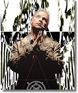 Hellblazer cover art by Tim Bradstreet