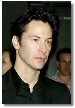 Keanu at the premiere, thanks POTD