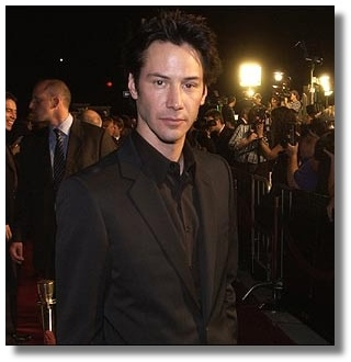 Keanu at the LA Revolutions premiere