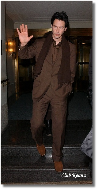 Give . He s just yummy in the chocolatey brown suit and (new?)shoes