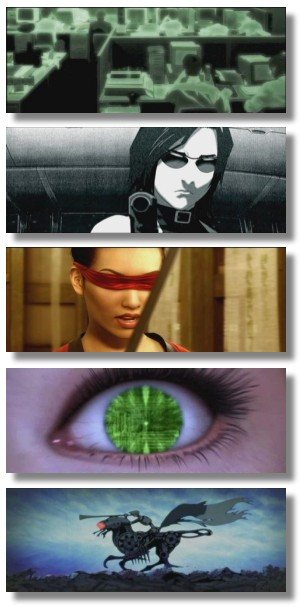 frames from the Animatrix