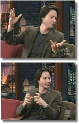thanks to Club-Keanu for these captures
