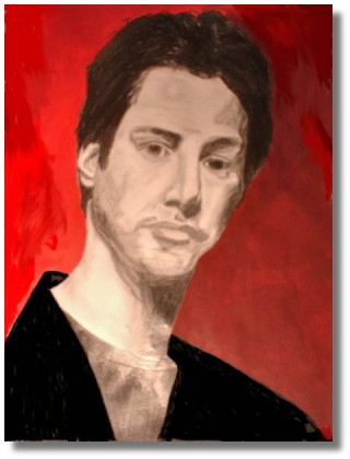 keanu drawing by Diane