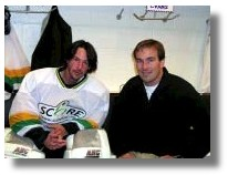 Keanu and SCORE's Sean Gjos
