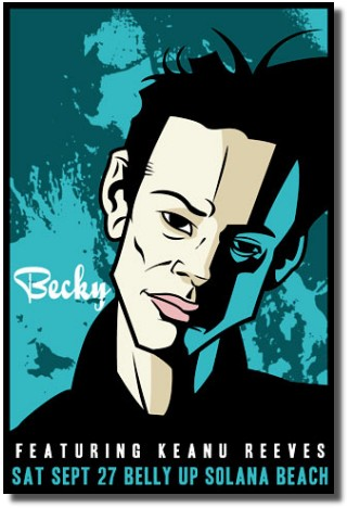 Poster by Scrojo for a 2003 becky show - click to buy