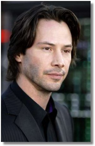 Actor Keanu Reeves arrives for the premier of the Warner Brothers motion picture 'The Matrix Reloaded' at The Mann Village Theater in Los Angeles May 7, 2003. The Matrix Reloaded' is the second chapter of the provocative, futuristic 'Matrix' trilogy starring Keanu Reeves, Carrie-Anne Moss , and Laurence Fishburne opens May 15th. REUTERS/Mike Blake