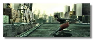 Scene from FINAL FLIGHT OF OSIRIS, one of nine episodes from THE ANIMATRIX